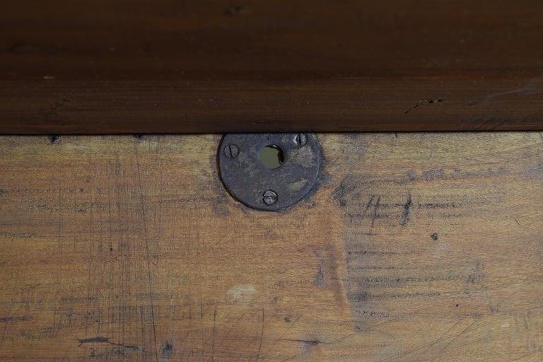 Italian Walnut and Ebonized Tall 2-Piece Bookcase Cabinet, Mid-19th Century For Sale 12