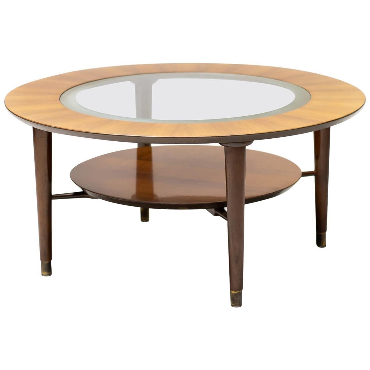 Italian Walnut Coffee Table