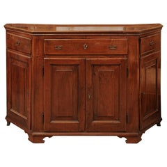 Italian Walnut Credenza, Early 19th Century