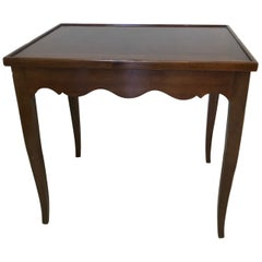 Italian Walnut Flip Top Game Table