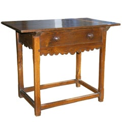 Italian Walnut Occasional Table, 19th Century