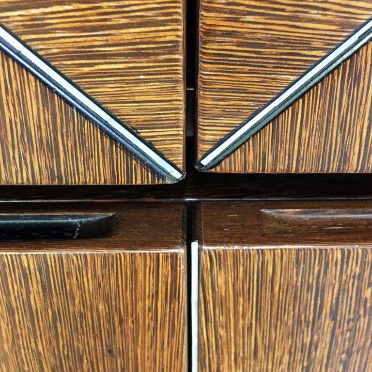 Italian Wengé Cabinet Micene by F. Meccani for Meccani Arredamenti, 1978 For Sale 2