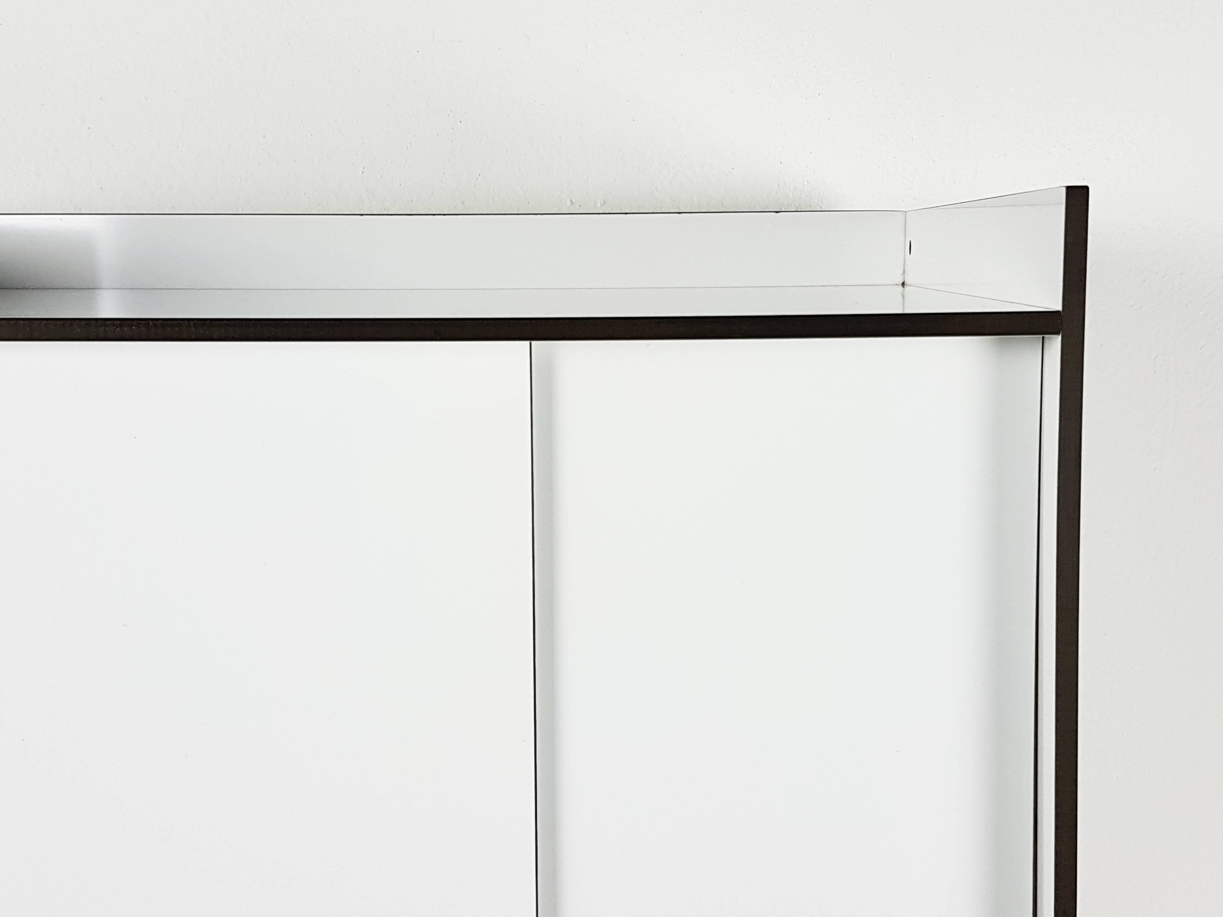 Italian White Laminated Plastic Storage Unit With Shelves And