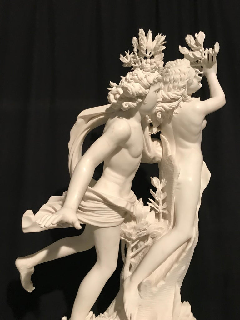 This group of sculpture, made as be spoke by our artists, is a re-edition from the famous and fantastic Sculpture made by one of the most important Italian sculptor, the great Gian Lorenzo Bernini. It is a made by order, ready in around 25 weeks. It
