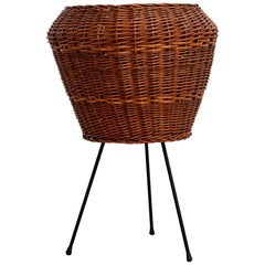 Italian Wicker Planter