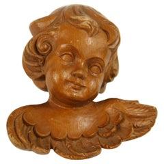Italian Wood Carved Angel