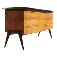 Italian Wooden Chest of Drawers, 1960s