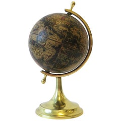 Italian World Globe That Spins