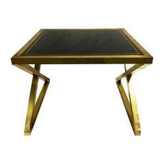 Italian X-Frame Side Tables