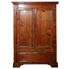 18th Century Tuscan Buffet with Two Doors, Two Shelves and One Large Drawer
