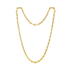 Italian Yellow Gold Chain