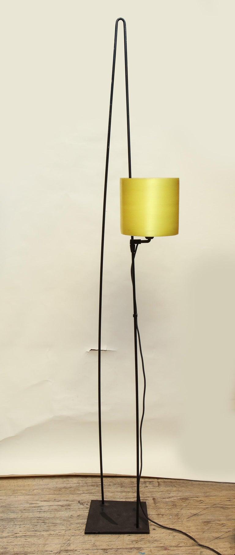 Italiana Luce Floor Lamp Mid-Century Modern Ion and Plexiglass, Italy, 1970 For Sale 4