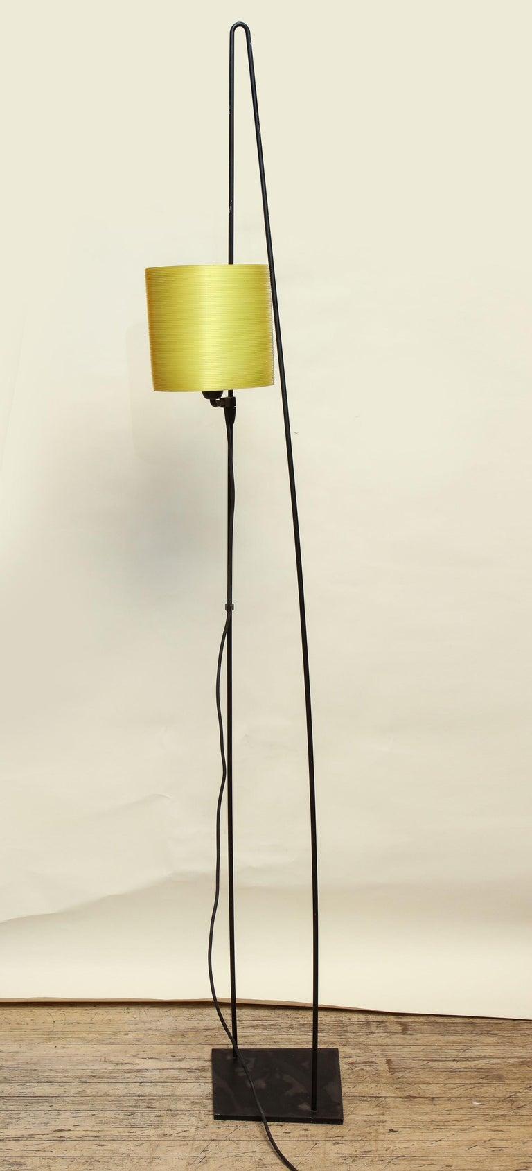 Molded Italiana Luce Floor Lamp Mid-Century Modern Ion and Plexiglass, Italy, 1970 For Sale