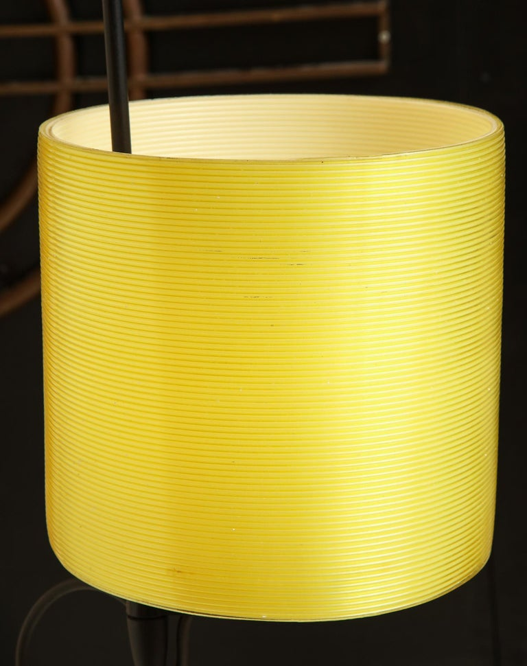 Italiana Luce Floor Lamp Mid-Century Modern Ion and Plexiglass, Italy, 1970 In Good Condition For Sale In New York, NY