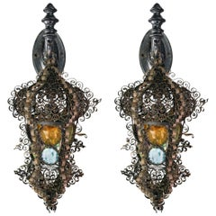 Italianate Style Sconce Pair