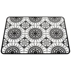 Italic Lace Rectangular Placemat in Black by Galante & Lancman for Driade