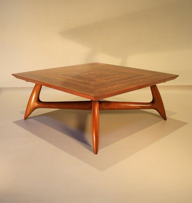 Italien Coffee Table by Pierluigi Giordani, 1950s 3