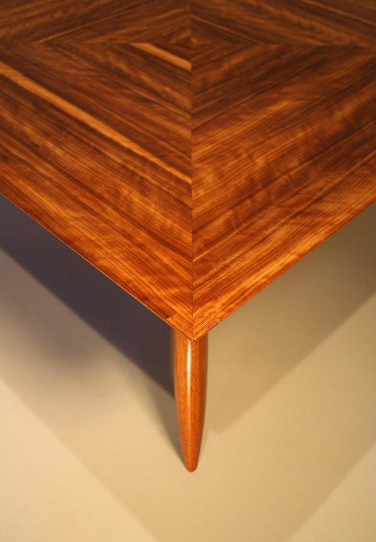 Walnut Italien Coffee Table by Pierluigi Giordani, 1950s