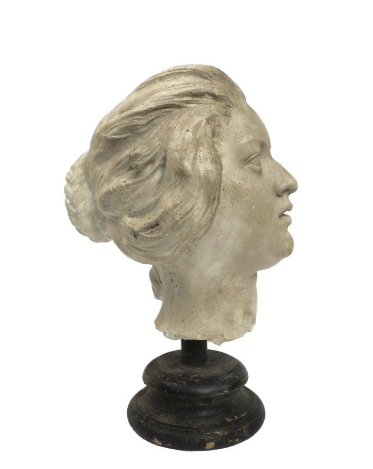 Italian Academic Cast Depicting Costanza Bonarelli's Head, Italy, circa 1890 For Sale