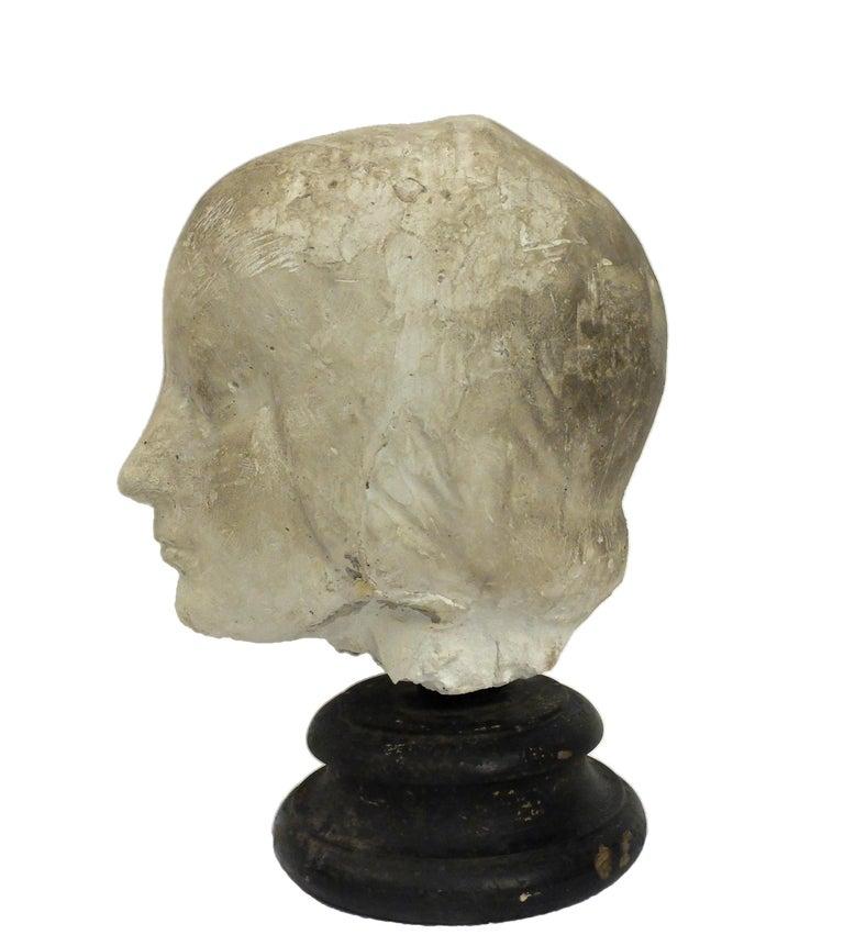 Italian Italy 1890 circa, Academic Cast Depicting Eleonora D'aragona Head For Sale