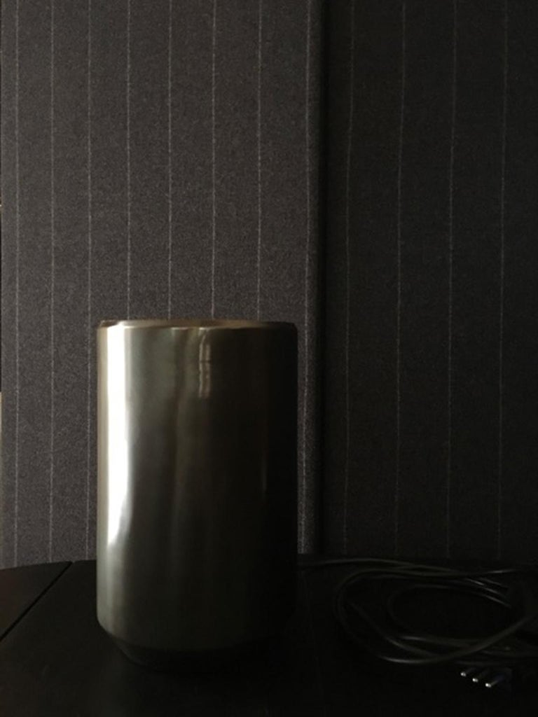 Italy Burnished Metal Contemporary Design in Minimalist Style Table Floor Lamp In New Condition For Sale In Brescia, IT