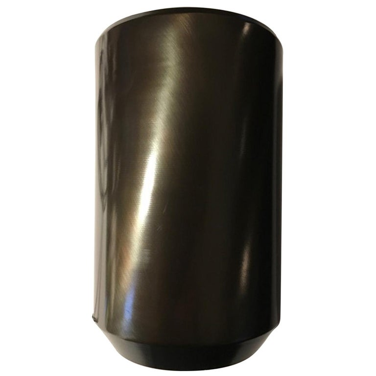 Italy Burnished Metal Contemporary Design in Minimalist Style Table Floor Lamp For Sale