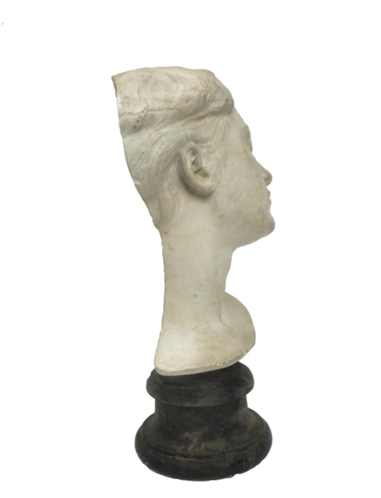 Italian Italy circa 1890, Academic Cast Depicting a Young Girl Head For Sale