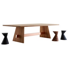 Ithsmus Dining Table by Hollis + Morris