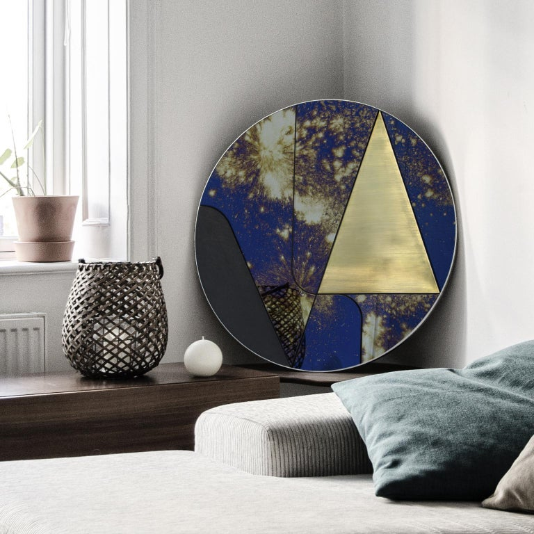 Modern Itinera Insula Galassia Mirror by Atlasproject For Sale