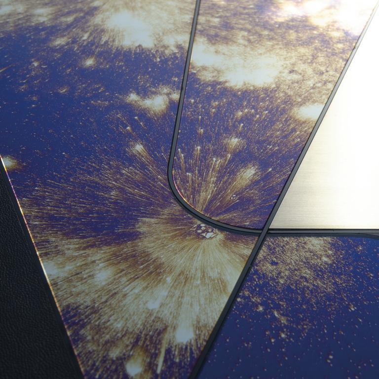 Italian Itinera Insula Galassia Mirror by Atlasproject For Sale