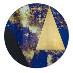 Itinera Insula Galassia by Atlasproject Decorative Wall Mirror
