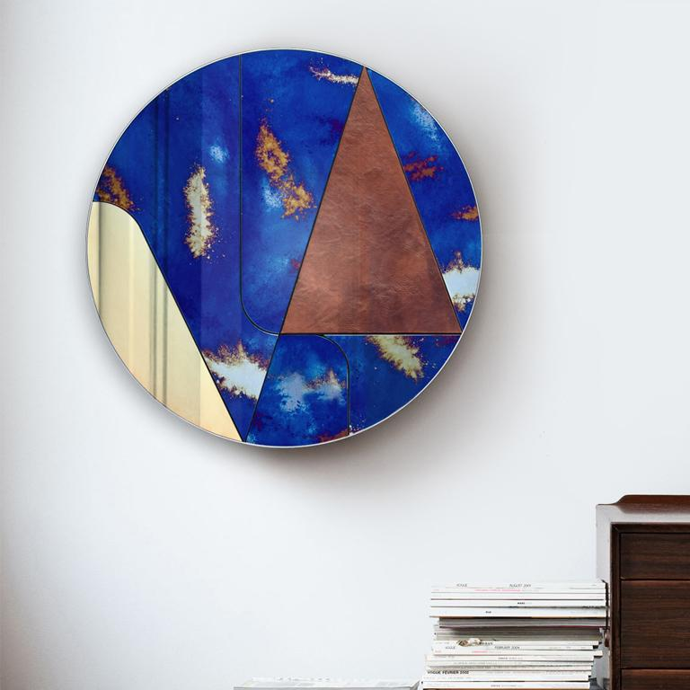 Modern Itinera Insula Vulcano Mirror by Atlasproject For Sale