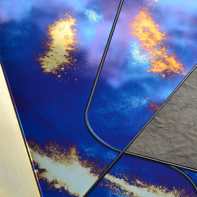 Italian Itinera Insula Vulcano Mirror by Atlasproject For Sale