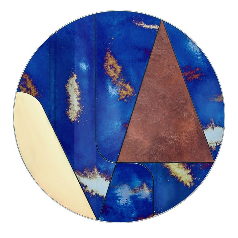 Itinera Insula Vulcano Mirror by Atlasproject For Sale