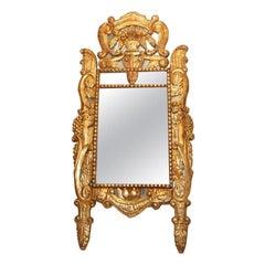 Itlain Louis XIV Gilt Mirror