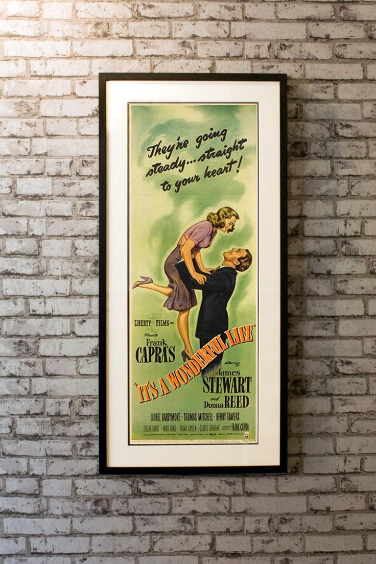 It's A Wonderful Life (1946) Poster In Good Condition For Sale In London, GB