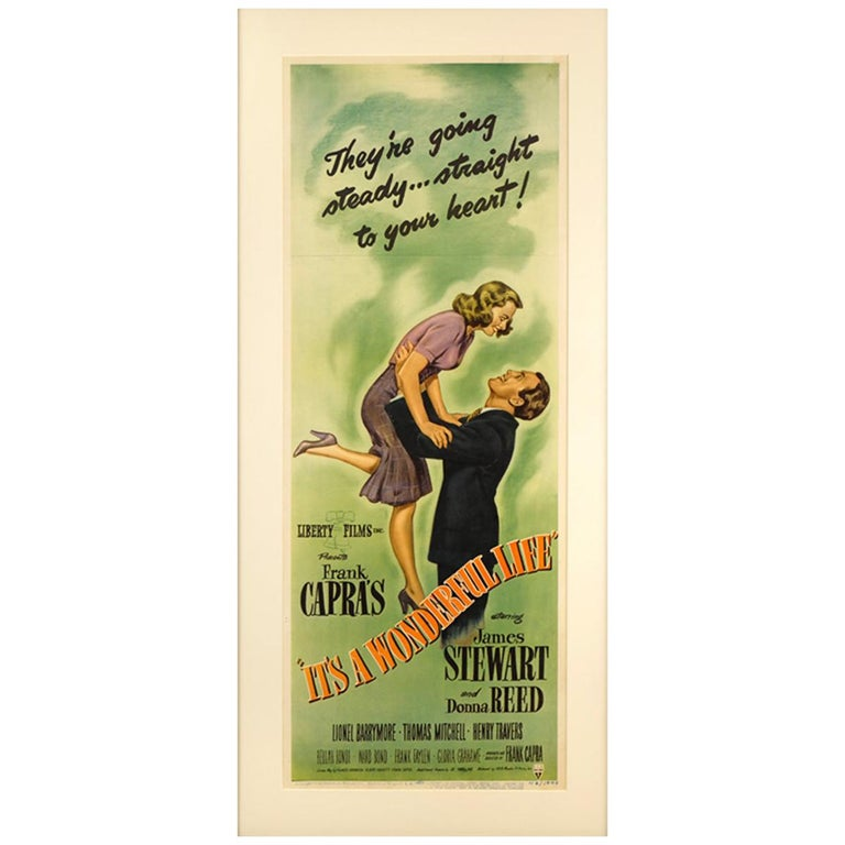It's A Wonderful Life (1946) Poster For Sale
