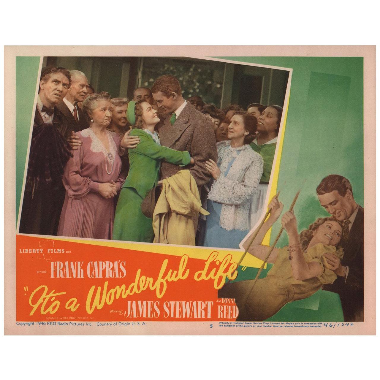 It's a Wonderful Life 1946 U.S. Scene Card