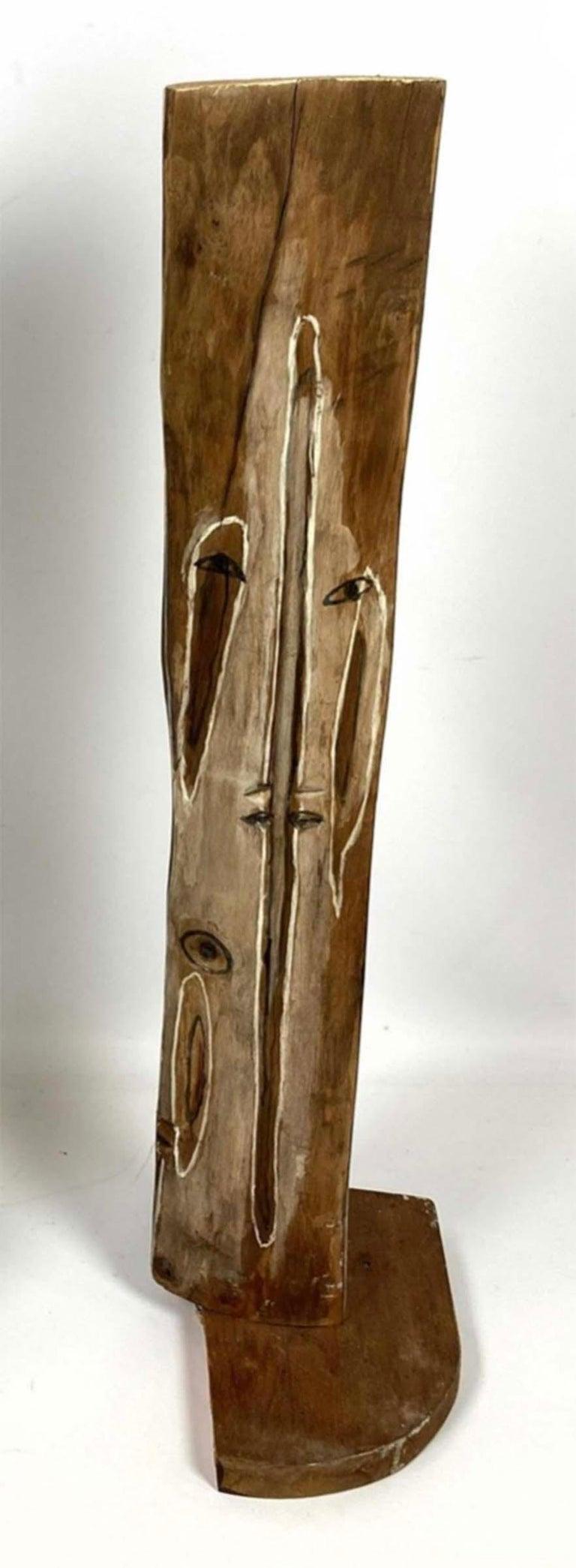 Modernist Face - Sculpture by ITZHAK SANKOWSKY