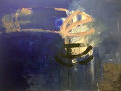 """MISTERIO 2""  original abstrac acrylic canvas painting-"