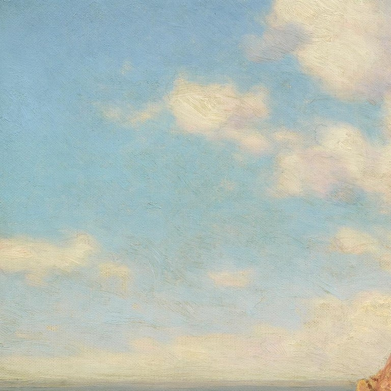 Capri - Painting by Ivan Fedorovich Choultse