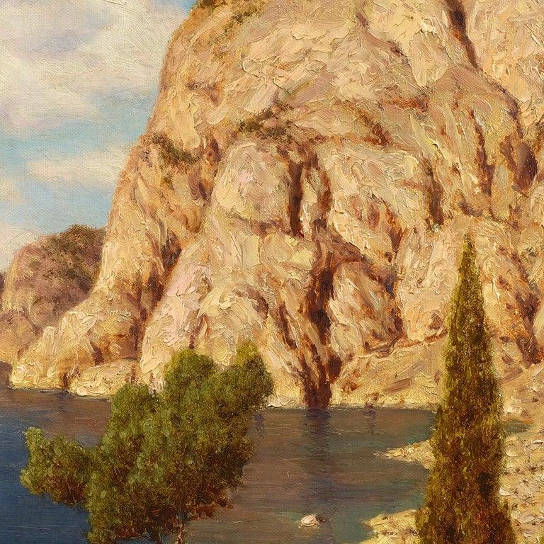 Capri - Academic Painting by Ivan Fedorovich Choultse