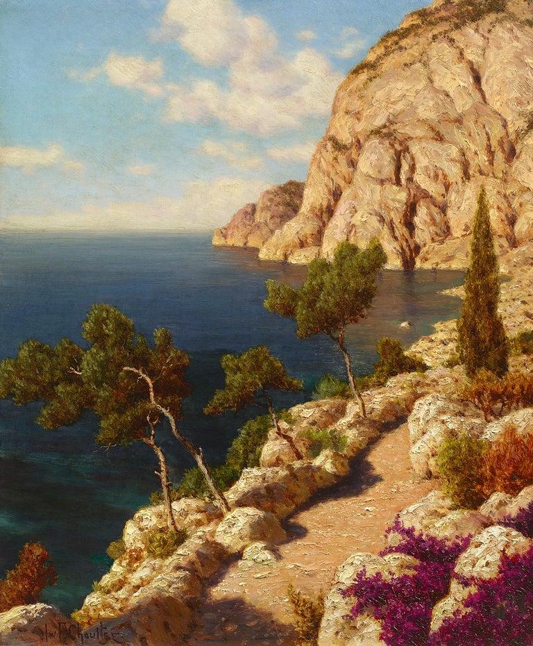 Ivan Fedorovich Choultse Landscape Painting - Capri