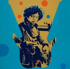 Jimmy Hendrix - Original handsigned silkscreen - 85 copies
