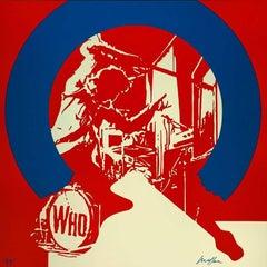 Rock : My Generation, The Who - Original handsigned silkscreen - 85 copies