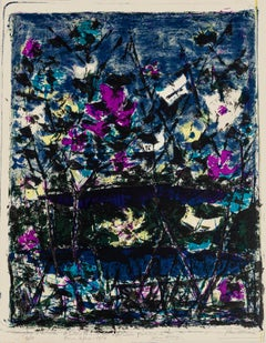 Composition - Original Lithograph - 1957