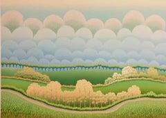 Huge Plain - 1990s - Ivan Rabuzin - Screen Print - Contemporary