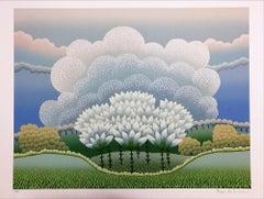 Snowdrops - 1990s - Ivan Rabuzin - Serigraph - Contemporary