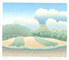 Sweet Hills - 1990s - Ivan Rabuzin - Lithograph - Contemporary