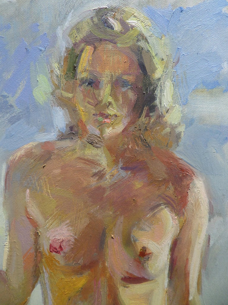 Hot Summer - Impressionist Painting by Ivan Roussev